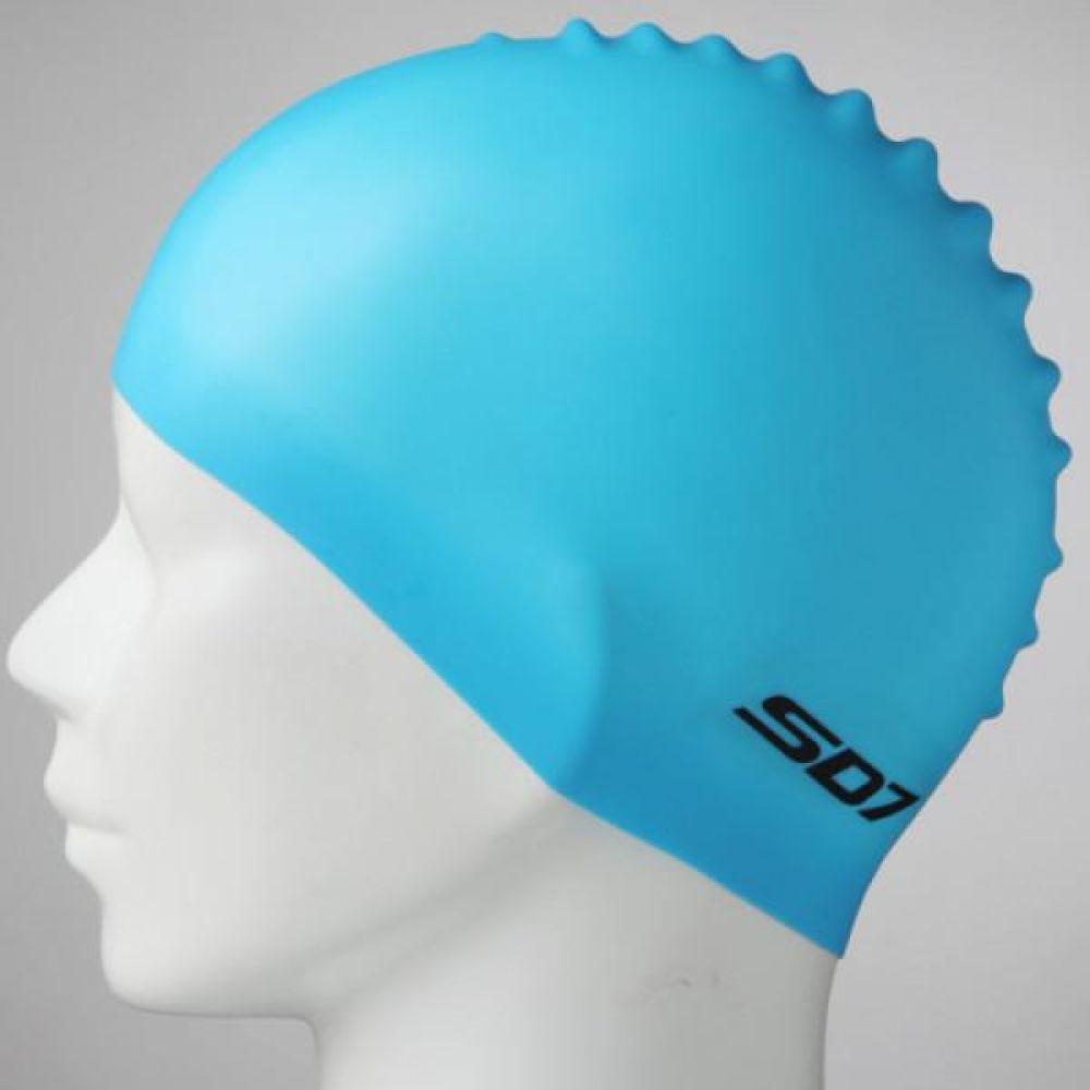 SGL-CA020 레이싱캡_SBL SD7 투구형수모 실리콘수모 수영모자 수영용품 수영모 수영수모