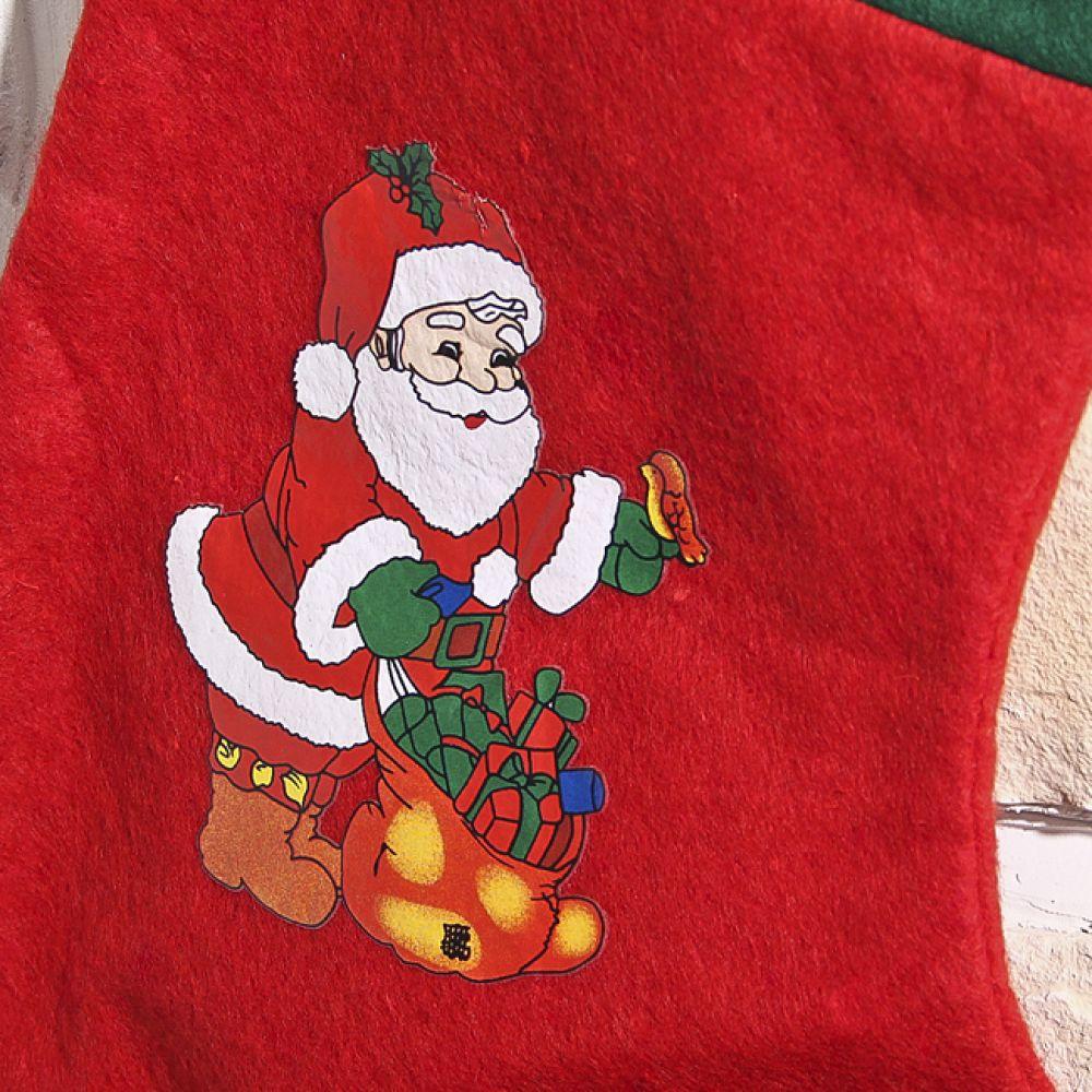 MWSHOP 성탄 양말 일반 36.5cmx25cm 크리스마스 성탄양말 엠더블유샵