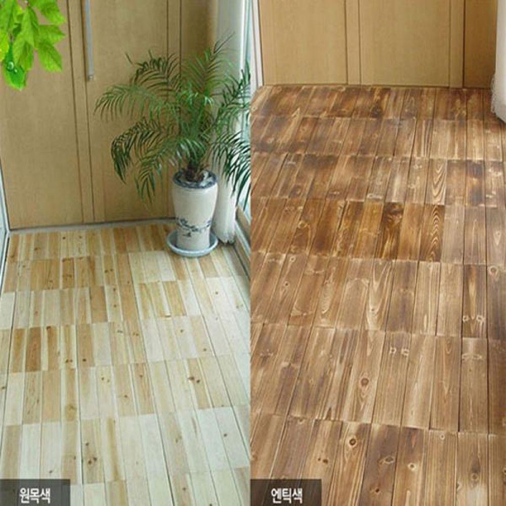 편백나무 조립식마루 24p 조립마루 강화마루 조립식바닥 바닥재 원목마루