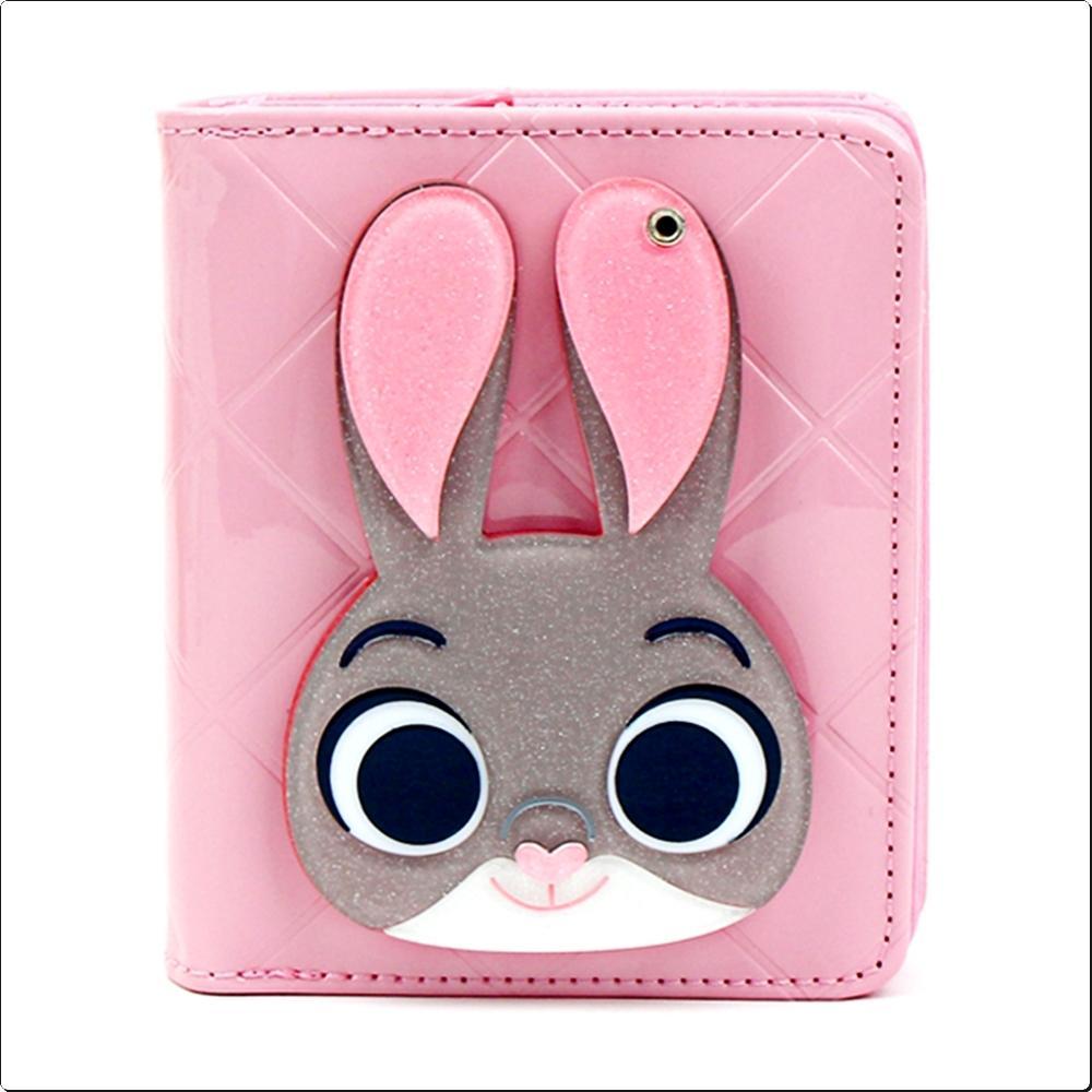 (디즈니 주토피아) 주디 에나멜 거울지갑 (750640) 캐릭터 캐릭터상품 생활잡화 잡화 유아용품