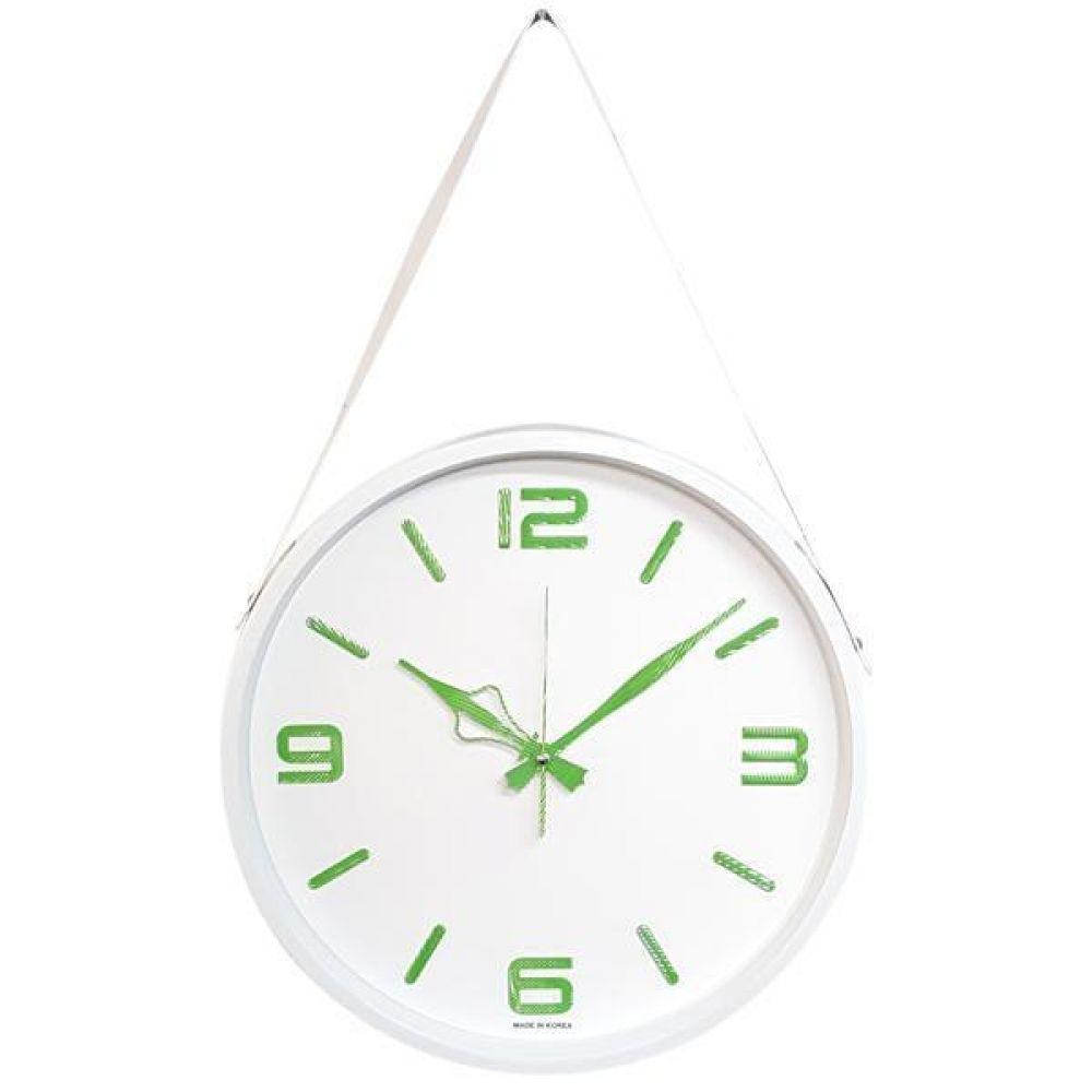 GB4597 고급인덱스 무소음 벽시계36.5cm 화이트 한국 벽시계 무소음벽시계 인테리어벽시계 모던벽시계 메탈벽시계
