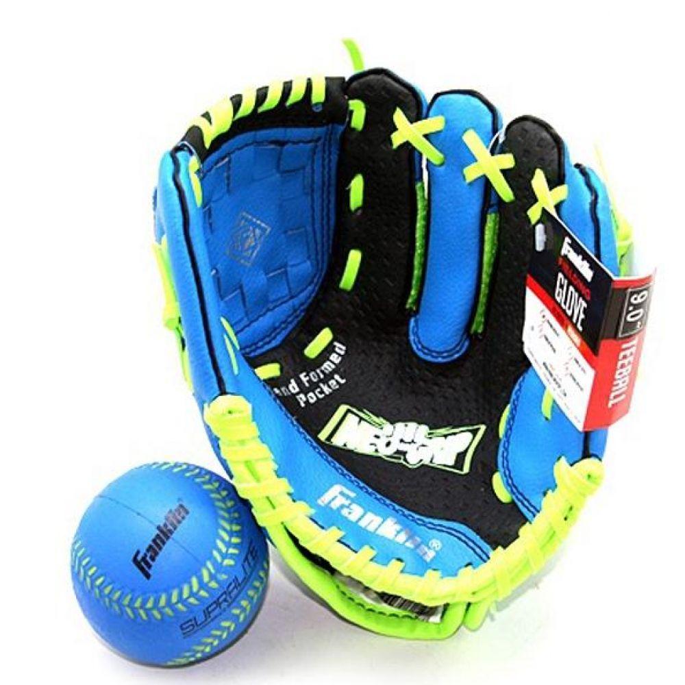 프랭클린 아동 메쉬 글러브 볼 세트 블루 990g 야구용품 야구글러브 유소년글러브 티볼글러브 유소년티볼글러브 어린이티볼글러브