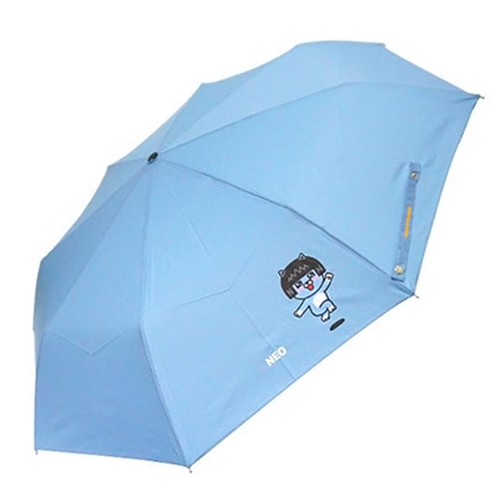 카카오프렌즈 점핑 완전자동우산-네오(스카이) 카카오우산 카카오프렌즈우산 라이언우산 어피치우산 콘우산 네오우산 무지우산 우산 유아우산 아기우산