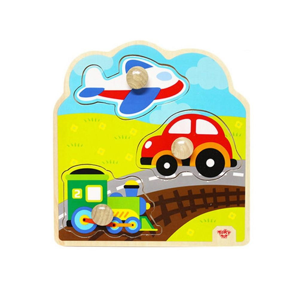 장난감 유아 학습 아동 놀이 교통 큰꼭지 퍼즐 아이 퍼즐 블록 블럭 장난감 유아블럭