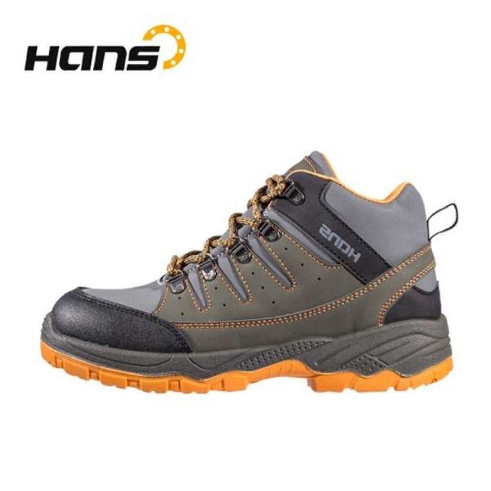 한스 HS-79 인피니트 6in 보통작업용 중단화 안전화 안전화 HANS 한스산업 가죽안전화 지퍼안전화 지퍼타입 작업화 현장화