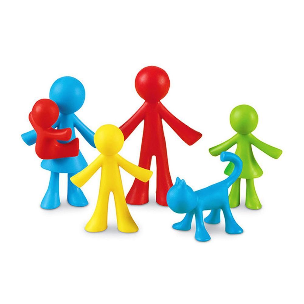 선물 어린이 아이 과학 학습 교구 가족수세기 24pcs 유아원 장난감 학습교구 교구 놀이교구