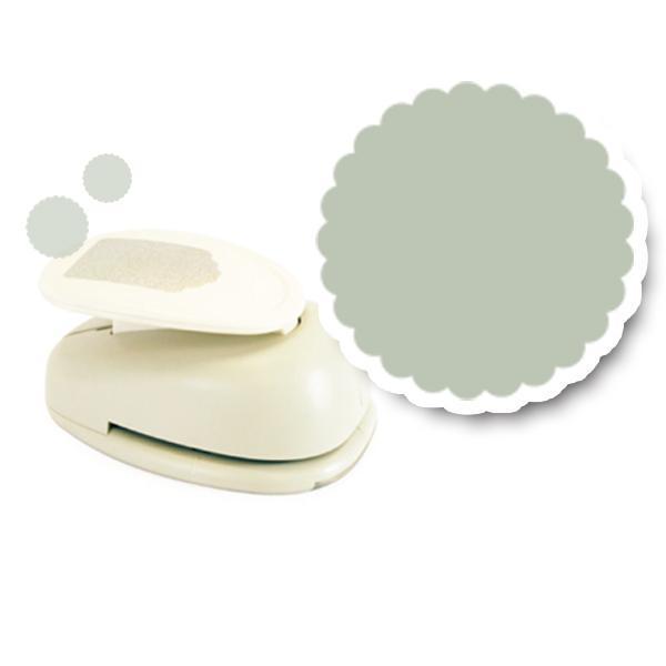 모양펀치 R-76(펀칭규격76mm이내) 034 물결원 모양펀치 미니펀칭기 펀치 모양만들기 공예
