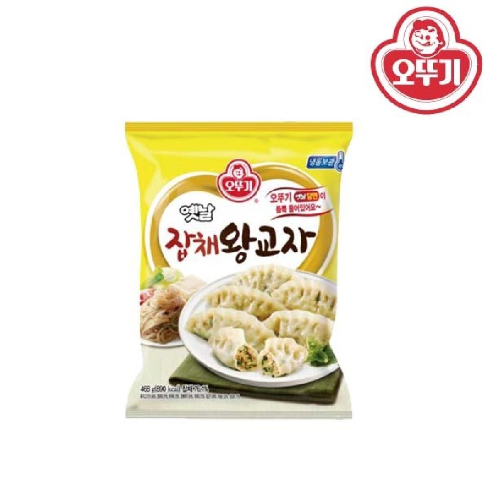 오뚜기 옛날 잡채 왕교자 324g 김치만두 찐만두 생각나는만두 맛있는만두 딤섬
