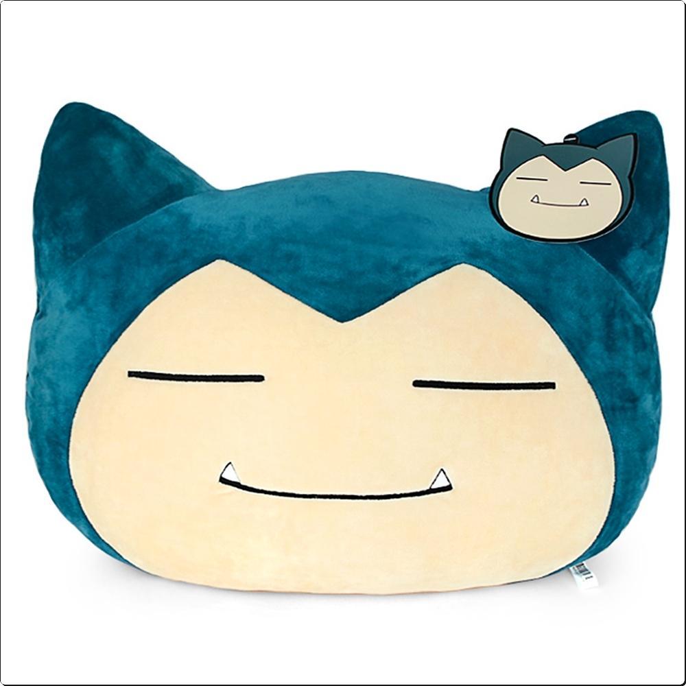 (포켓몬스터) 잠만보 얼굴 쿠션 40cm (모찌)(729172) 캐릭터 캐릭터상품 생활잡화 잡화 유아용품
