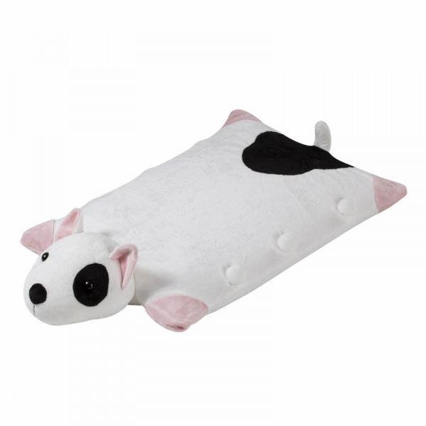 네츄럴라텍스 아동용 라텍스 베개받침 흰 얼룩 강아지
