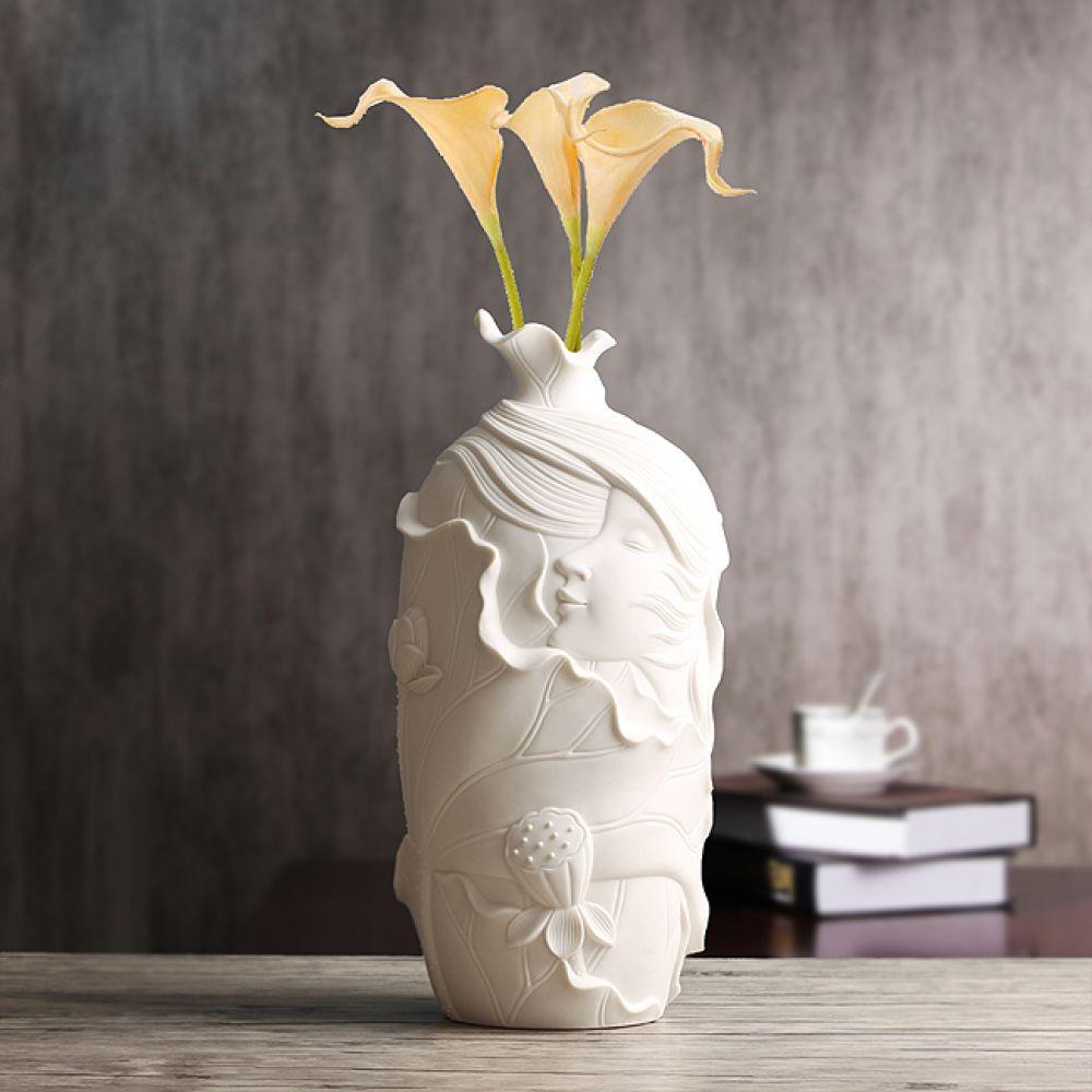 아트피플-V20 바람결 도자기 인테리어 꽃병 화병 꽃병 도자기화병 도자기꽃병 인테리어꽃병