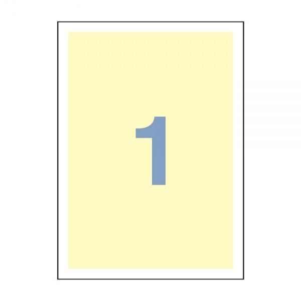 칼라전산라벨 3001-1(미색) 라벨지 물류라벨 주소라벨