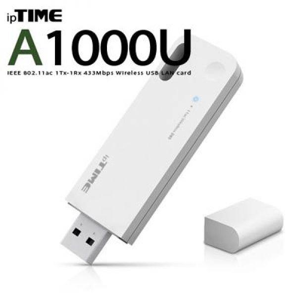 A1000U 11ac USB 무선 랜카드 컴퓨터용품 컴퓨터부품 유무선랜카드 USB랜카드 컴퓨터주변기기
