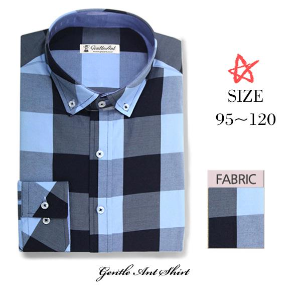 젠틀안트그랜드 깅엄 체크 스카이블루셔츠DL-037 슬림셔츠 솔리드셔츠 체크셔츠 스트라이프셔츠 와이셔츠 정장셔츠 데님셔츠 남성셔츠 남자셔츠