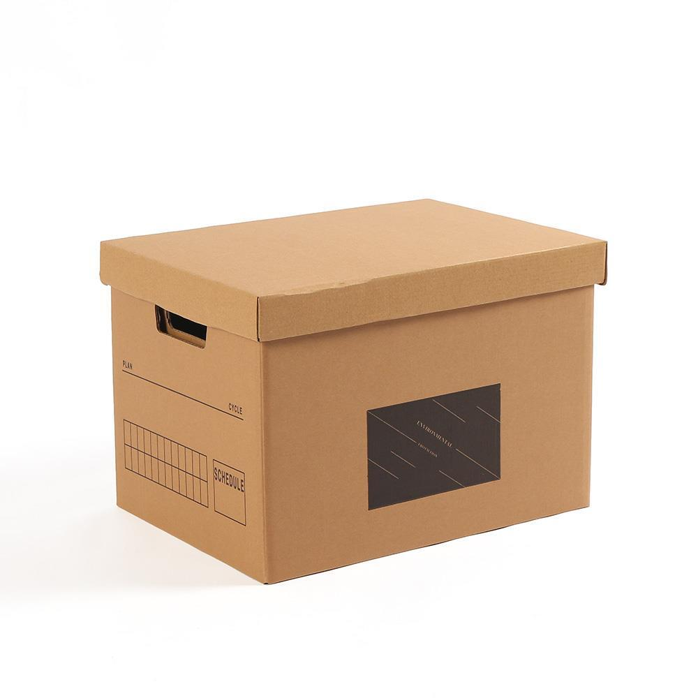크라프트 종이박스 28x39cm 수납 DIY 정리박스 정리종이박스 수납상자 정리박스 크라프트박스 박스정리함