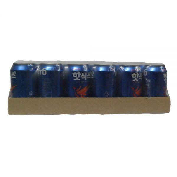 롯데칠성음료 캔 핫식스 음료수도매 355mlX24EA 업소용음료수 음료도매 캔마켓 업소용캔음료 업소용음료 음료수도매사이트 캔음료 음료유통
