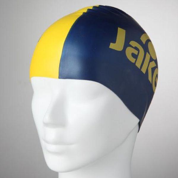 JWCUS05002_BL/YL(412) ELITE(엘리트) TOW-COLOURED 제이키드 실리콘수모 수영모자 수영용품 수영모 수중운동용품 캐릭터수영모