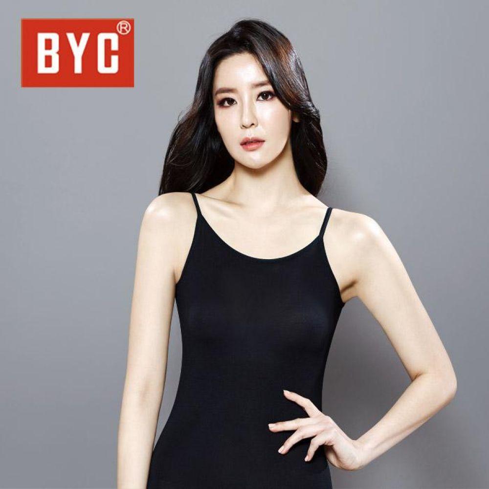 BYC여성 보디히트 케미솔 Q0568-검정