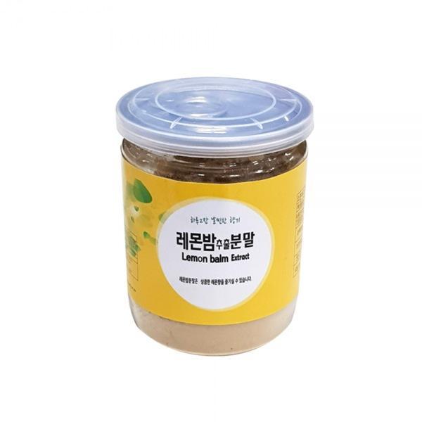 몽동닷컴 슈퍼푸드 레몬밤추출분말(100g) 레몬밤분말 레몬밤차 레몬밤환 레몬밤 레몬밤티백
