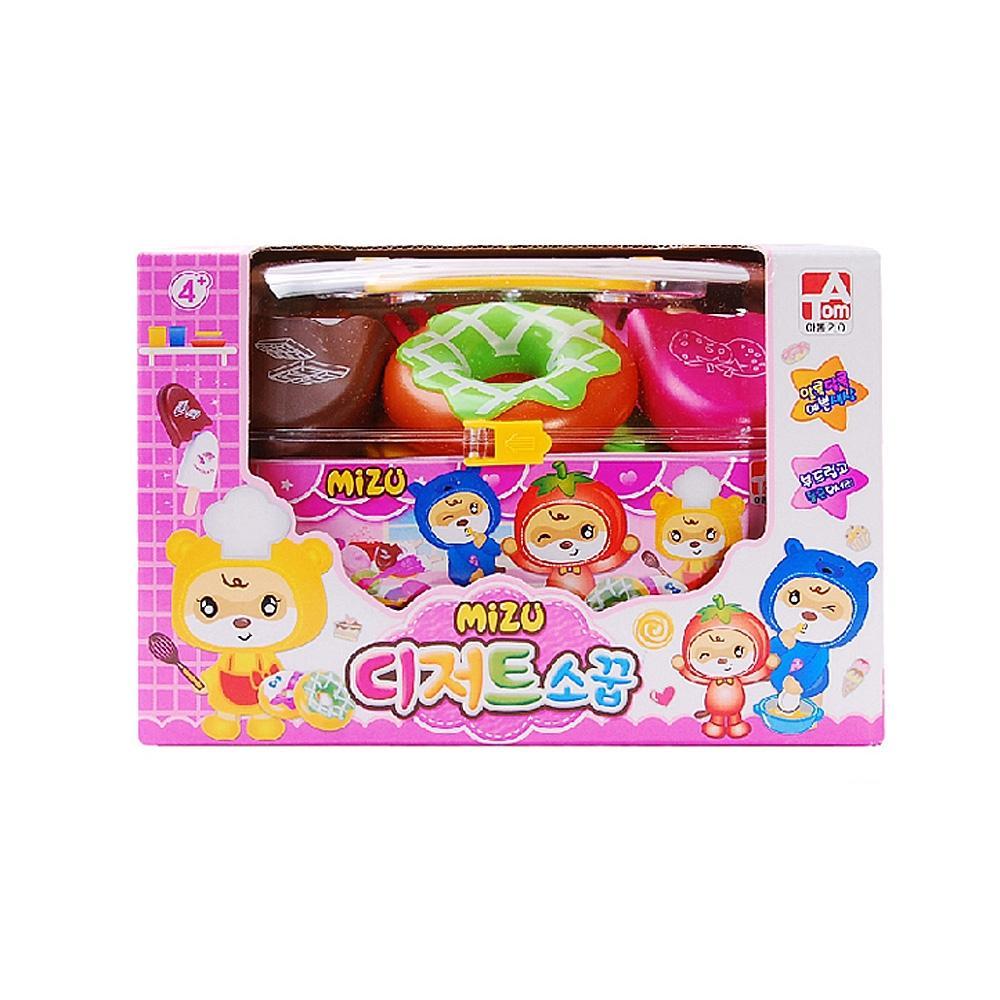 어린이날 유아 장난감 완구 미즈 디저트 소꿉놀이 유아원 장난감 2살장난감 3살장난감 4살장난감