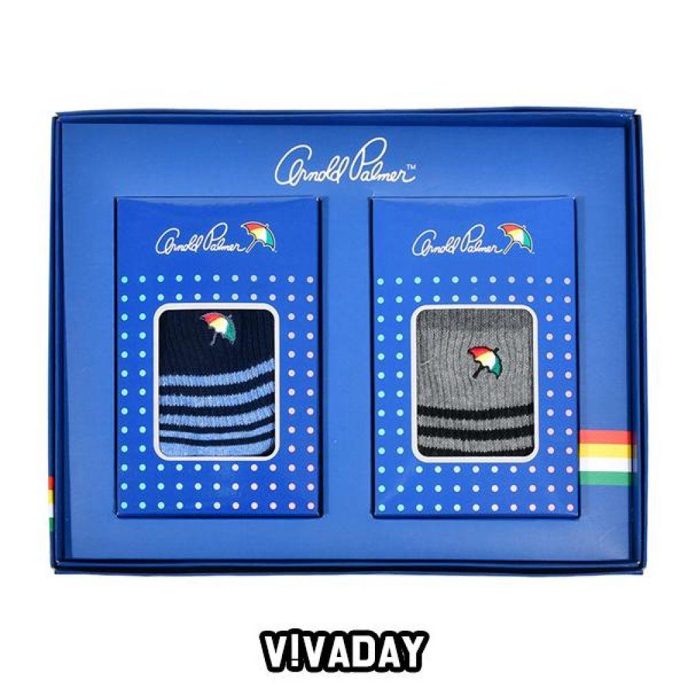 VIVADAY-YS22 양말세트 포인트 장목양말 2족세트 양말 양말선물 양말선물세트 선물 명절선물 지인선물 신사양말 숙녀양말 여성양말 남성양말