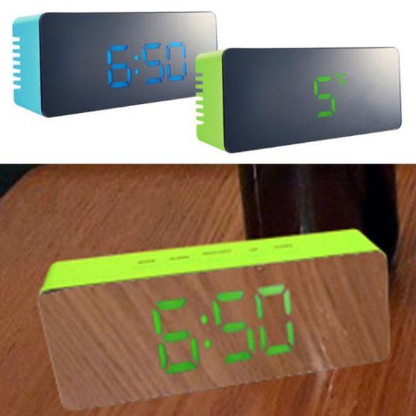 디지털 거울시계 시계거울 미러시계 디지털 탁상시계 디지털거울시계 거울시계 시계거울 디지털시계 미러시계