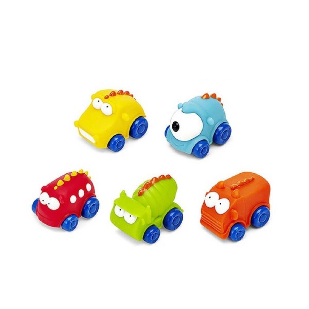 5P 어린이집 교구 장난감 블록 소프트 몬스터 자동차 퍼즐 블록 블럭 장난감 유아블럭
