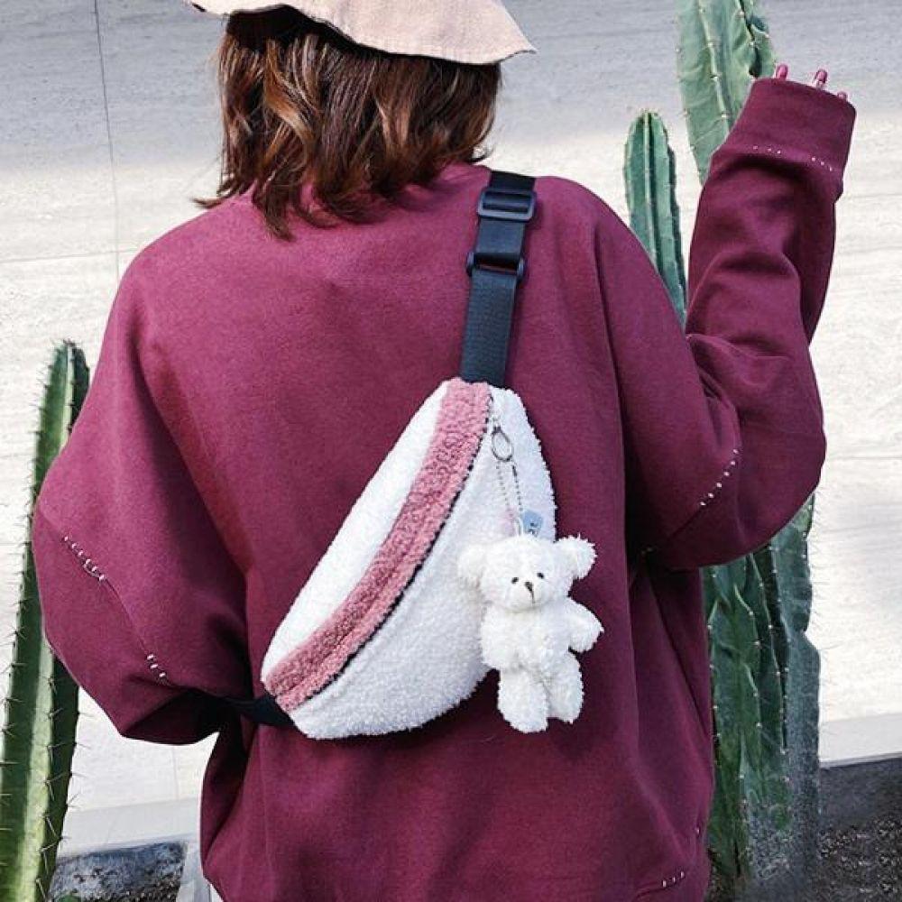 URB양털곰돌이 가방 핸드백 백팩 숄더백 토트백
