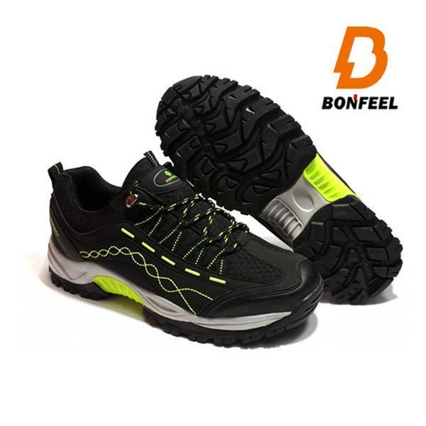 본필 남성 등산화 트레킹화 BFM-3801(black) 신발