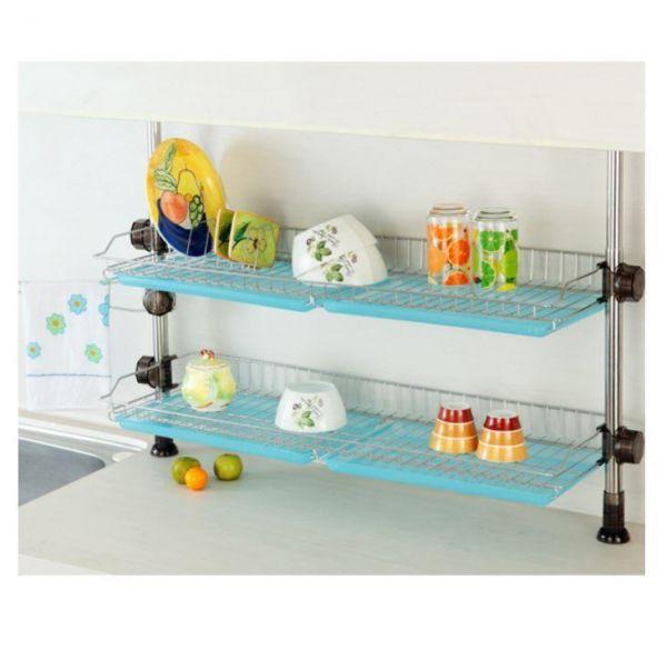 루비코아 씽크선반 800(골드) 설거지건조대 설거지선반 식기건조대 그릇정리대 싱크대선반