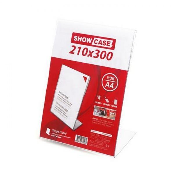 SHOW CASE 단면 210X300mm A2130 생활잡화 사무용품 표지판 잡화 생활용품 소형간판 쇼케이스 210X300