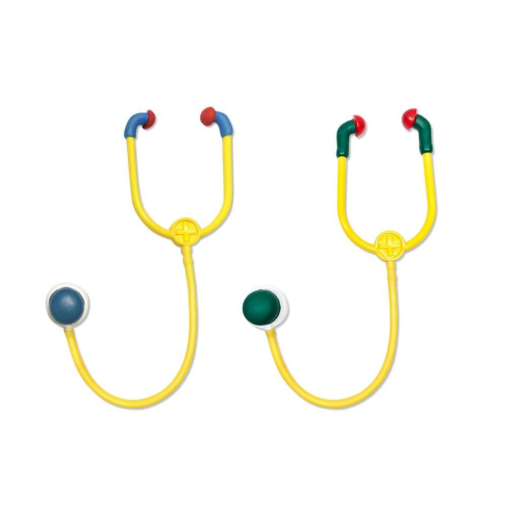 단품 유아 아이 놀이 장난감 소프트 청진기 색상랜덤 유아원 장난감 2살장난감 3살장난감 4살장난감