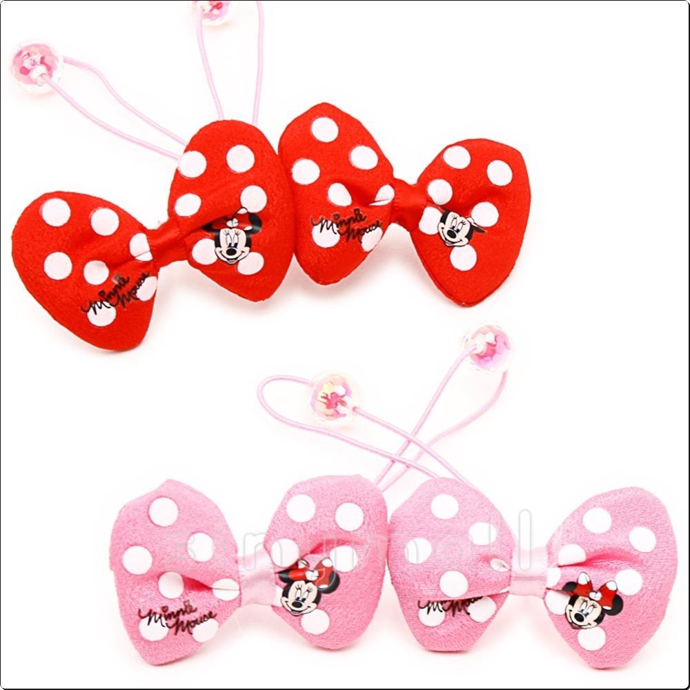 디즈니 미니 봉제리본쌍방울(소)(834071) 캐릭터 캐릭터상품 생활잡화 잡화 유아용품
