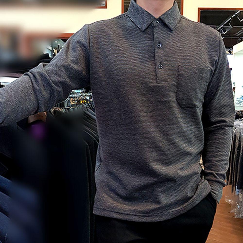 HARRIS 촘촘 스트라이프 애리니트 블랙 GR-TS5200 니트 컬러니트 라운드니트 베이직니트 젠틀안트니트 젠틀안트 가을니트 신상니트 남자니트 프리사이즈니트 스트라이프니트 knit