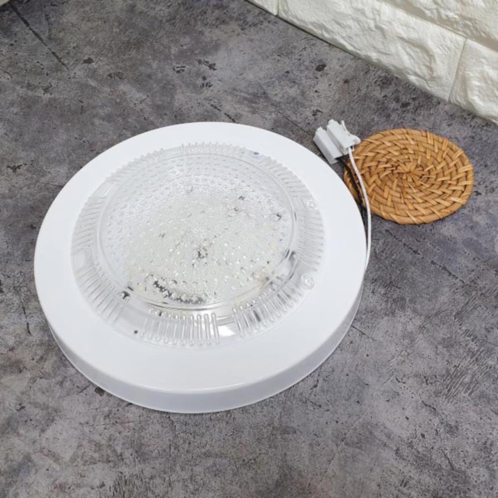 LED등 15W 주광색 원형직부등 천장조명 LED전구 전구 생활용품 LED전구 LED조명 형광등 생활조명