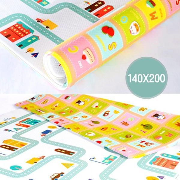 해피타운 양면 놀이방매트 200 안전매트 소음방지매트 유치원매트 어린이용품 어린이매트