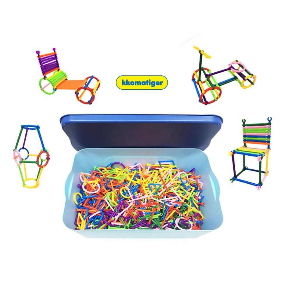 선물 유아 장난감 소프트 라인 블럭 1060p 아이 생일 퍼즐 블록 블럭 장난감 유아블럭