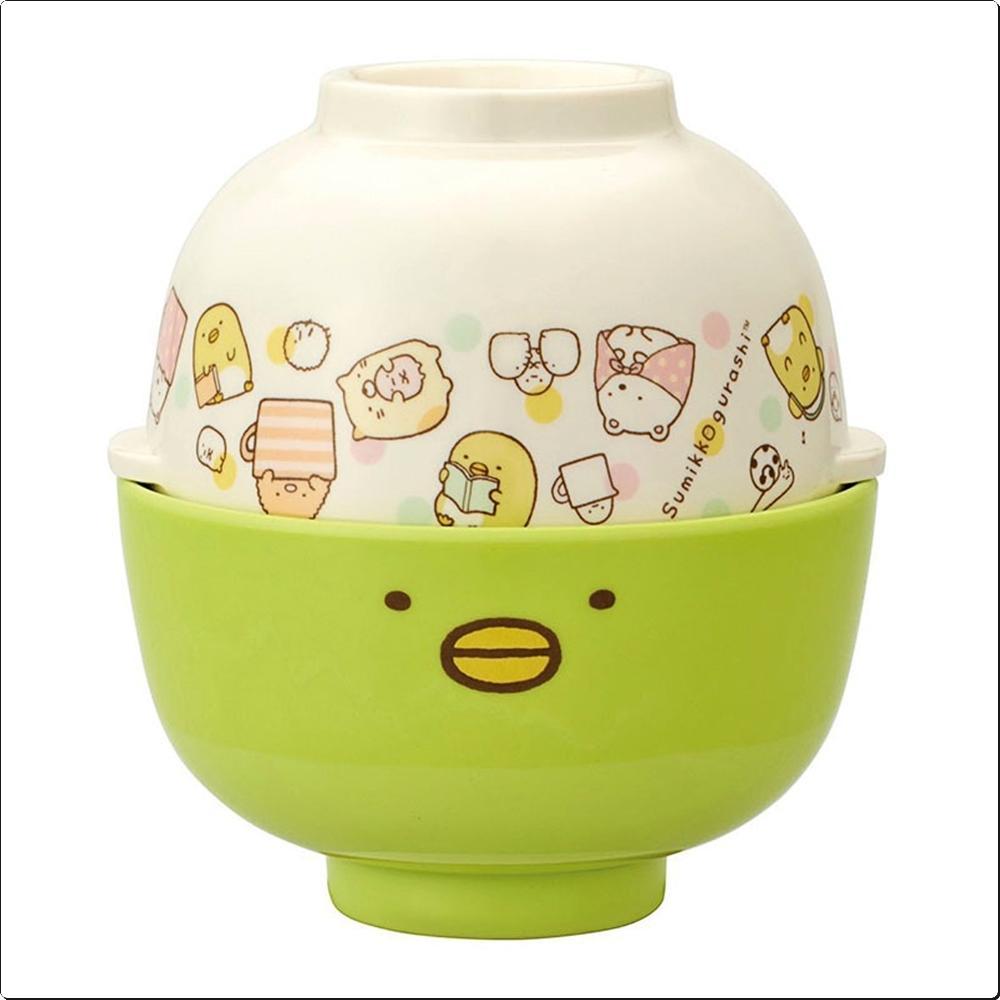 스밋코구라시16 공기 국그릇 세트(펭귄) (316173) 캐릭터 캐릭터상품 생활잡화 잡화 유아용품
