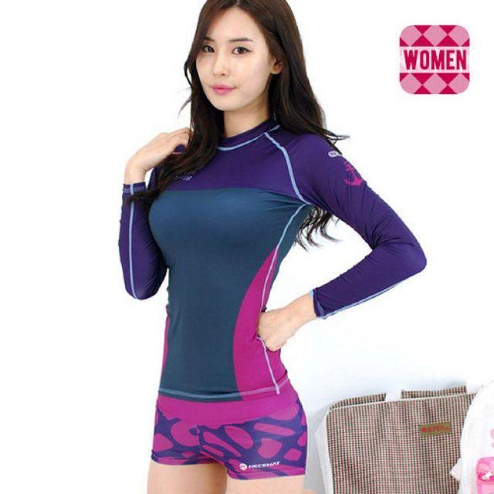 여자 수영복 비치웨어 래쉬가드 반바지 (비올레타) 여성래쉬가드 여성래쉬가드세트 집업래쉬가드 여성집업래쉬가드 루즈핏래쉬가드 비치웨어 수영복