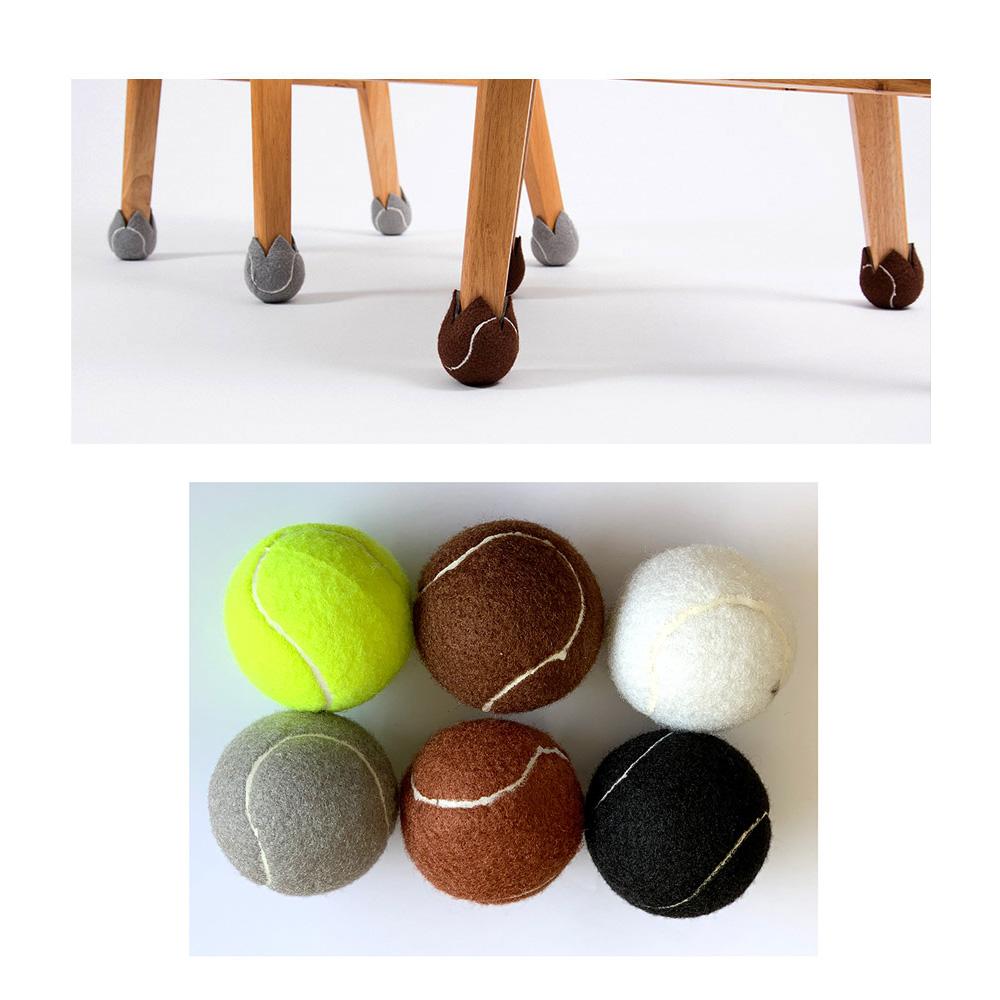 테니스공 의자 발커버 1P 십자절개 층간소음방지 의자커버 의자발커버 소음방지 의자다리커버 테니스공십자컷팅
