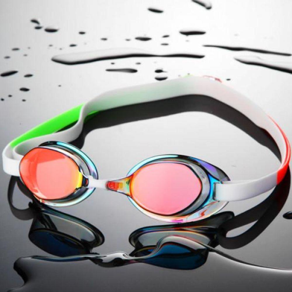 SGL-8200S-RDWH SD7 선수용 노패킹 컬러믹스 수경 수영용품 물안경 남자수경 여자수경 성인물안경