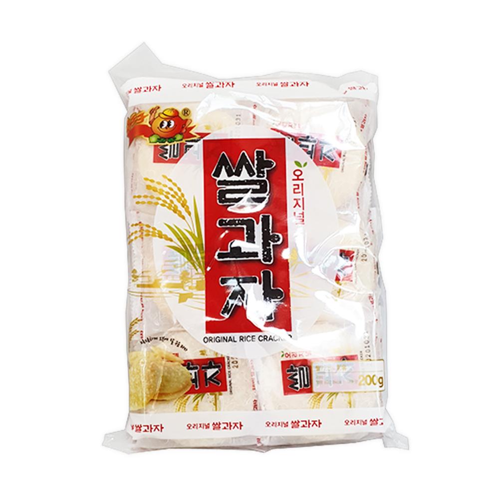 오븐에구운 고소한쌀과자200gX6 쌀과자 고소한쌀과자 오리지널쌀과자 과자 스낵