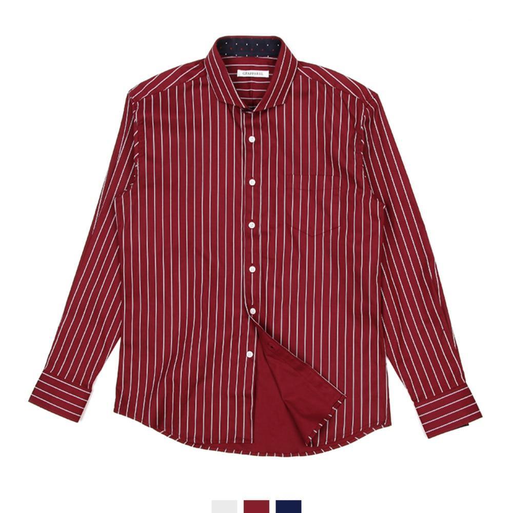 빅사이즈 와이드카라 스트라이프 남자셔츠 3colors 남자와이셔츠 와이셔츠 남자셔츠 옥스포드셔츠 남성셔츠 남자정장셔츠 정장와이셔츠 빅사이즈셔츠 화이트셔츠 블랙셔츠 슬림핏셔츠 무지셔츠 심플셔츠 남자체크셔츠 남자스트라이프셔츠