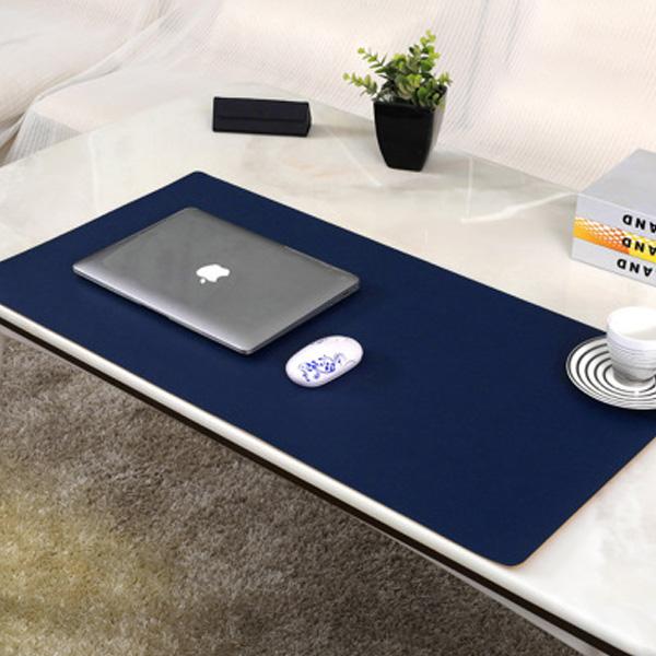 MWSHOP 와이드 가죽 책상커버 테이블 데스크 매트 패드 엠더블유샵