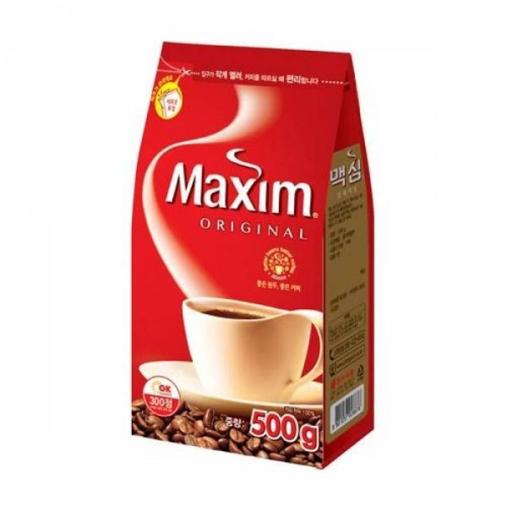 맥심 오리지날 커피(500g 동서식품) 887670 맥심 동서식품 오피스디포 식음료