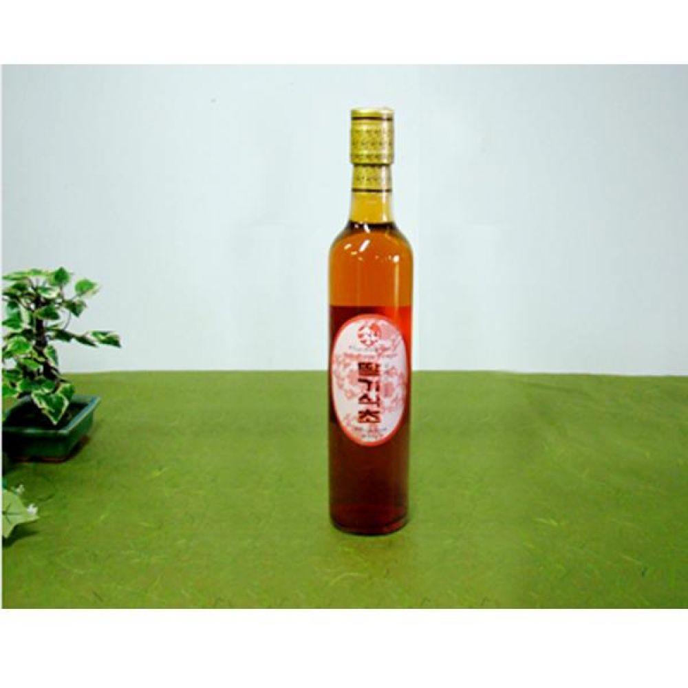 류충현 딸기식초 360ml 원료의 맛과 향이 살이있는 고급 음용 식초 건강 식품 버섯 딸기 식초