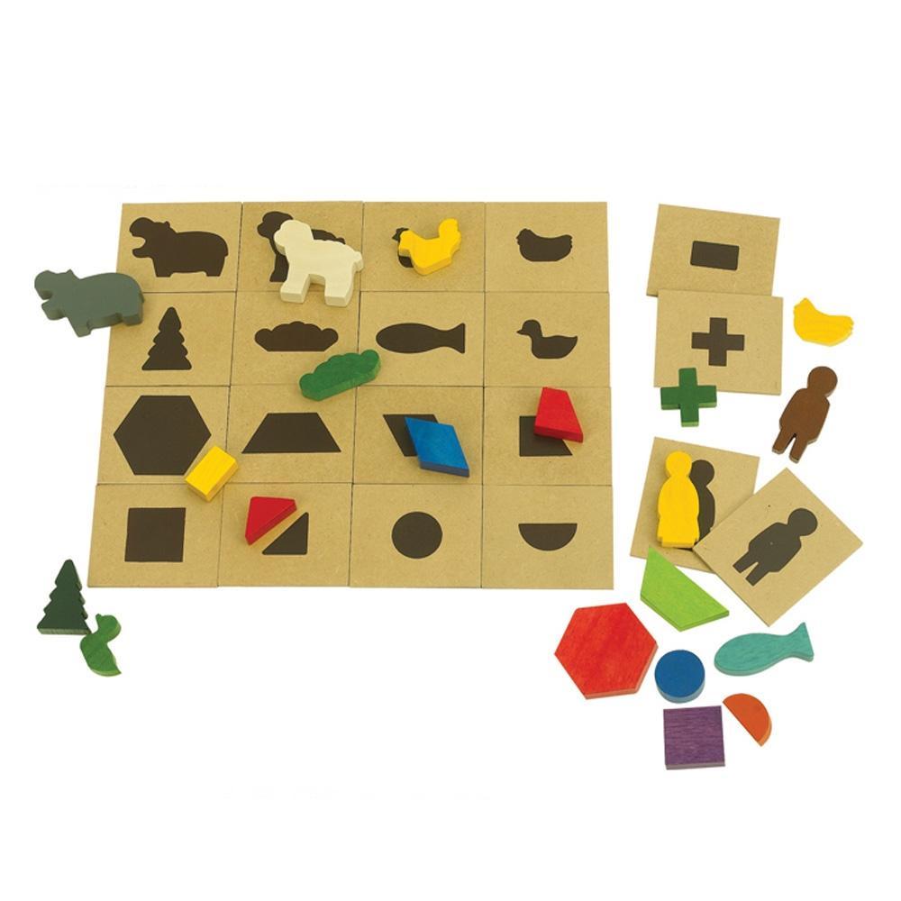 선물 5살 6살 장난감 퍼즐 놀이 도형과 그림자 어린이 퍼즐 블록 블럭 장난감 유아블럭