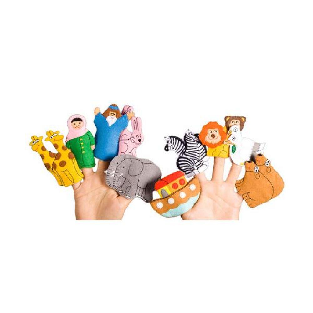 노아의 방주 손가락 인형 완구 문구 장난감 어린이 캐릭터 학습 교구 교보재 인형 선물