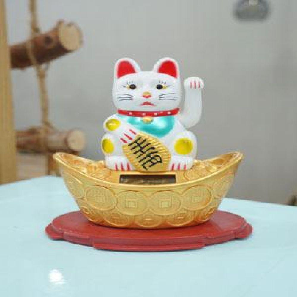 손흔드는 재물복 고양이 마네키네코 재물복소품 인테리어소품 장식소품 장식인형 고양이소품