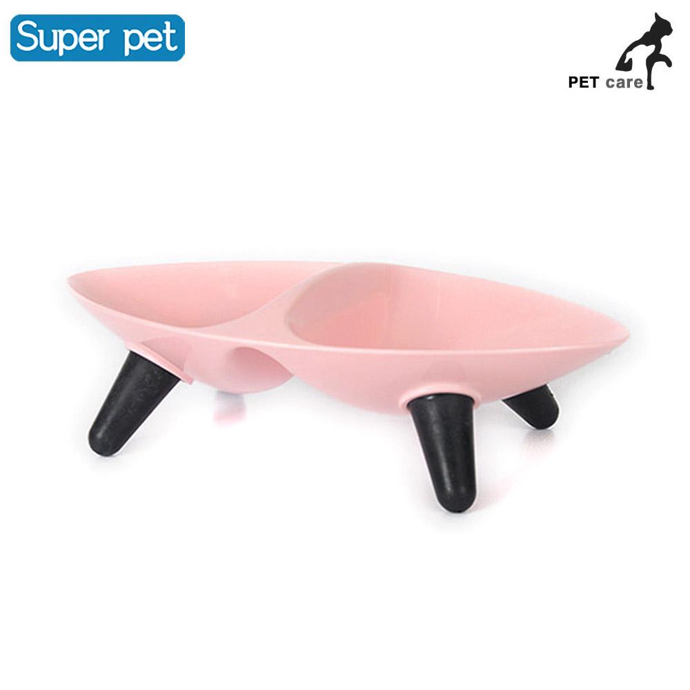 올리브 식탁 핑크 급수기 개급식기 급식기 애견용품 애견용품 강아지 개급식기 급식기 급수기